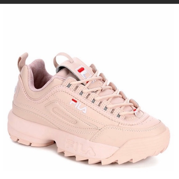 fila shoes peach